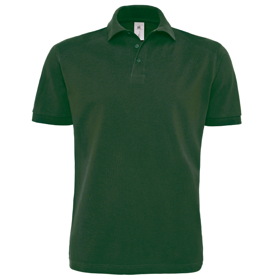 embroidered b c collection heavymill polo shirt. Black Bedroom Furniture Sets. Home Design Ideas