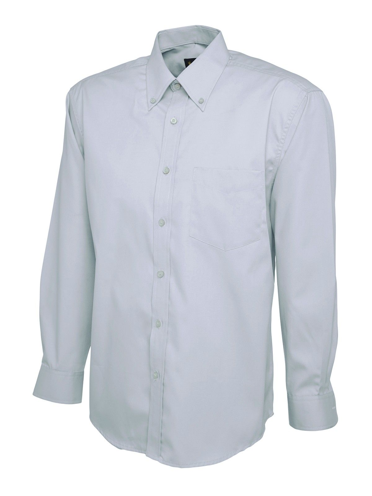 embroidered mens oxford long sleeve shirt