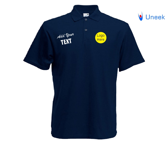 Embroidered polo shirts with logo for Custom embroidered work shirts no minimum