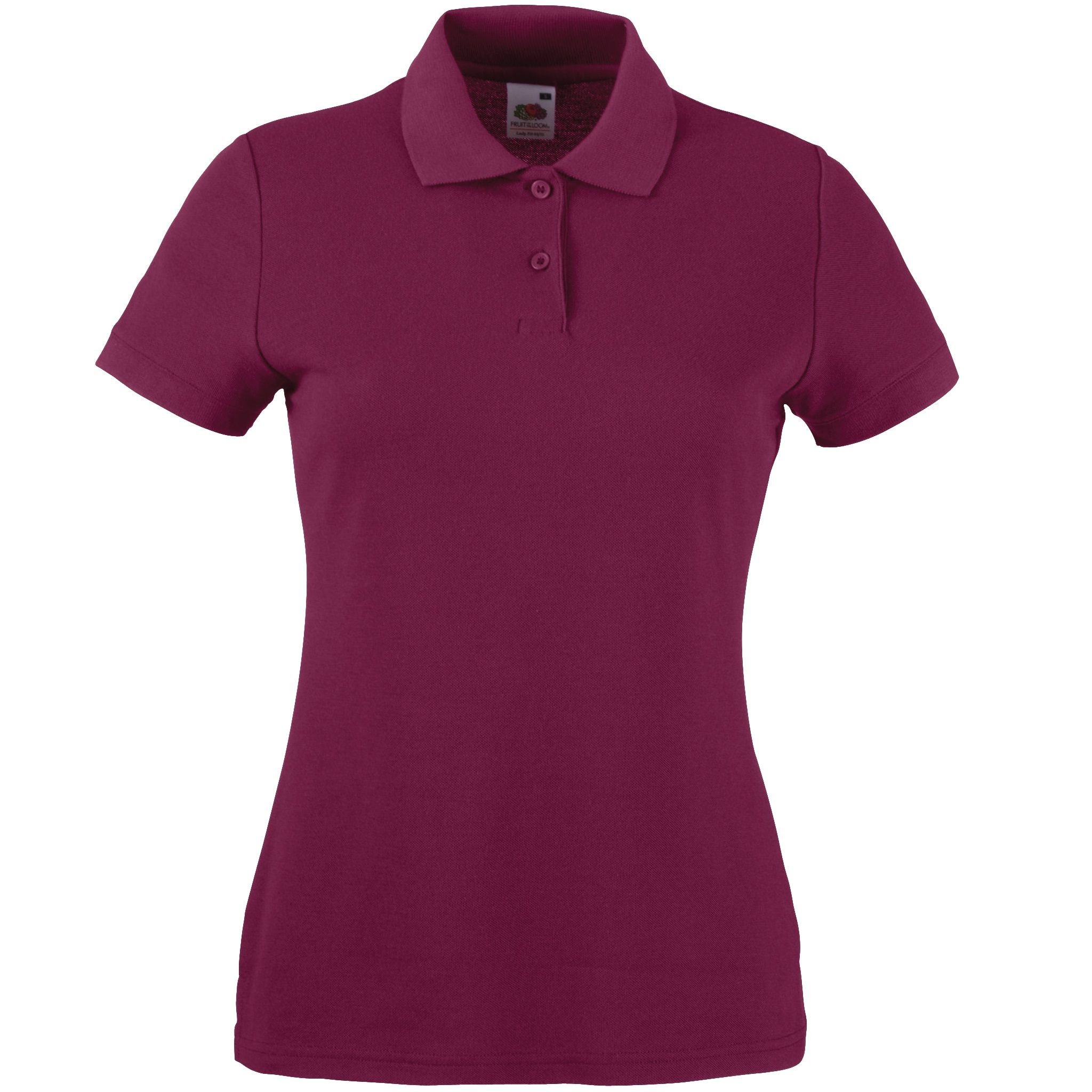 Ladies fit embroidered 65 35 polo shirt for Polo shirts with embroidery
