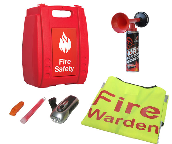 Fire Warden Kit In Box With Airhorn