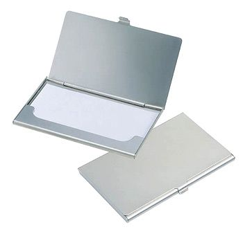 Metal business card holder reheart Choice Image